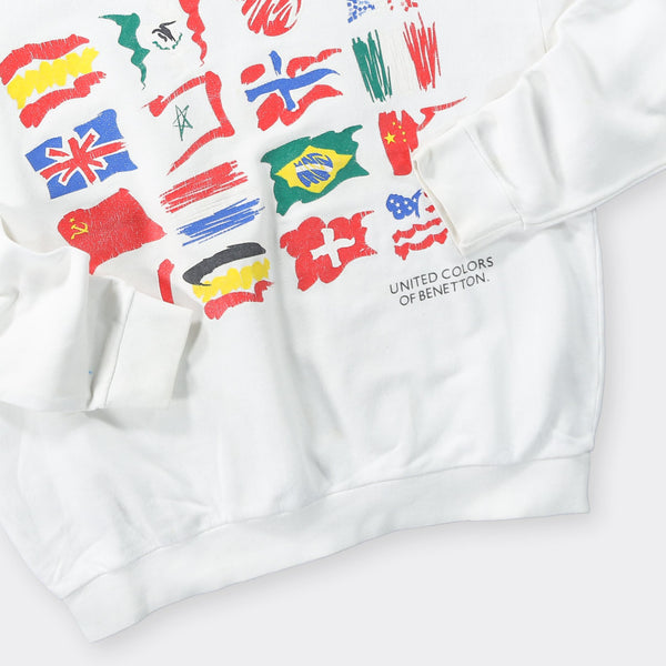 Benetton Vintage Sweatshirt - Small
