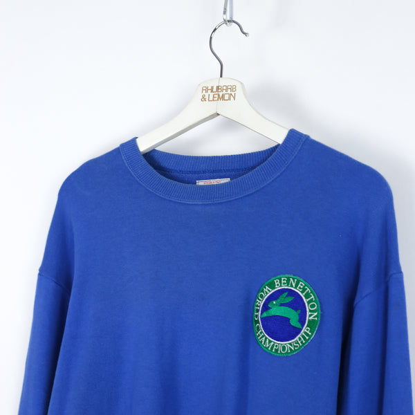 Womens Benetton Vintage Sweatshirt - Medium