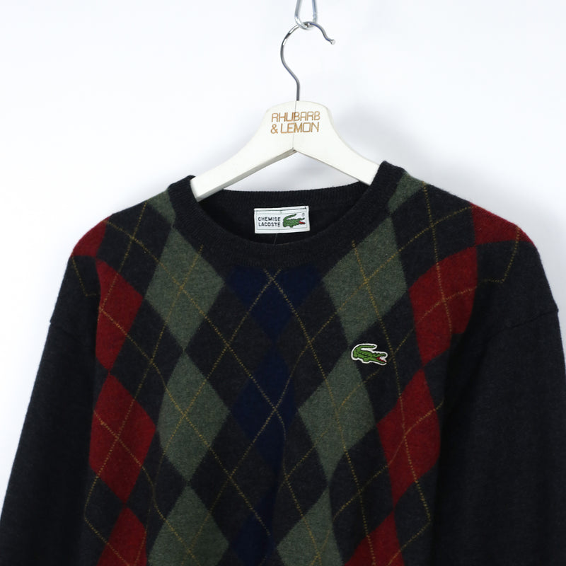 Womens Lacoste Vintage Sweater - Small