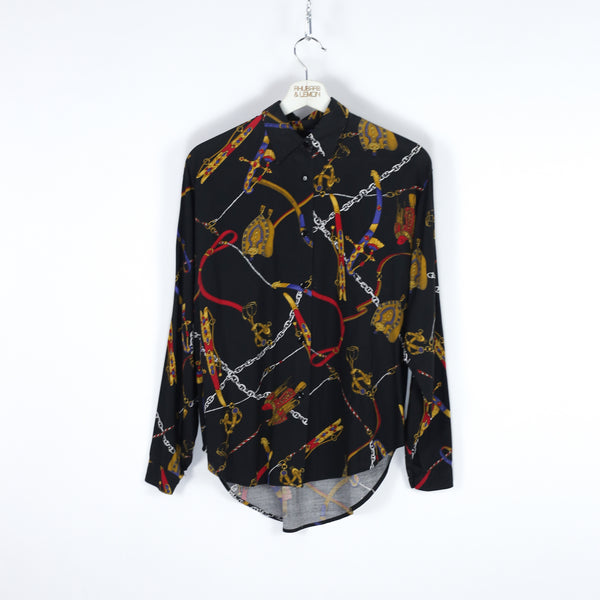 Womens Abstract Vintage Shirt - Medium