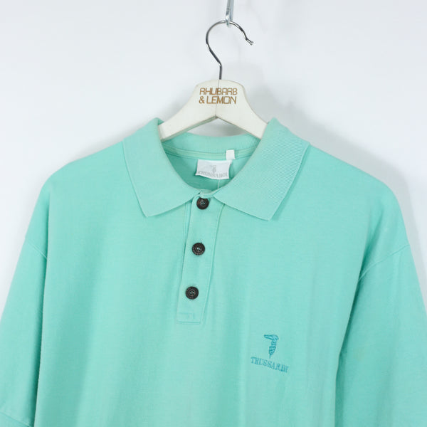 Trussardi Vintage Polo Shirt - Medium