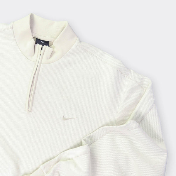 Nike Vintage Quarter Zip Sweatshirt - Medium