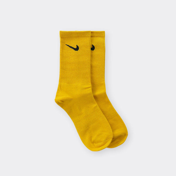 Nike Yellow Socks