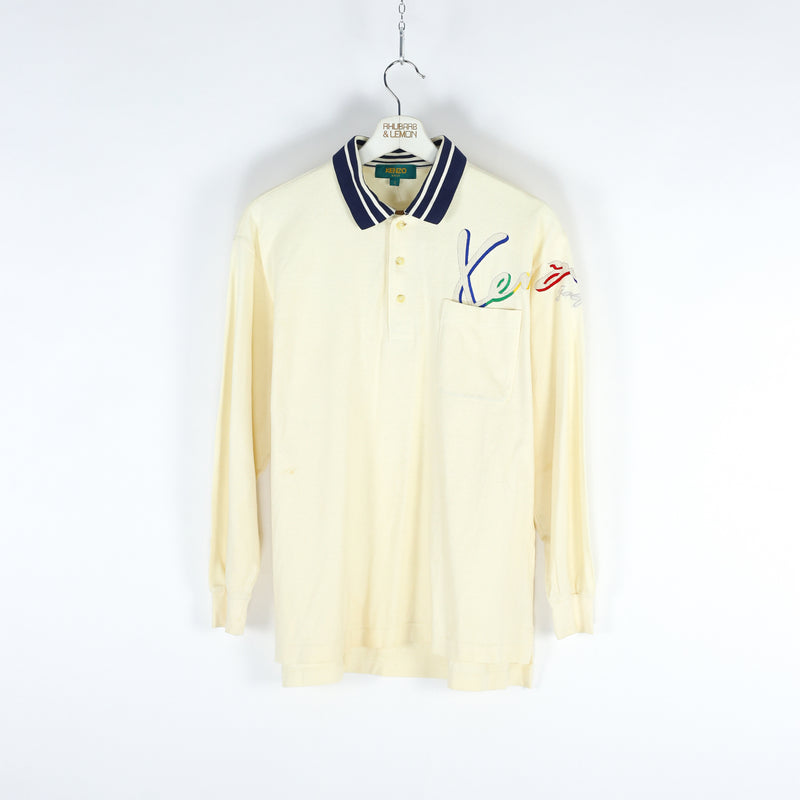 Kenzo Vintage Polo Shirt - Medium