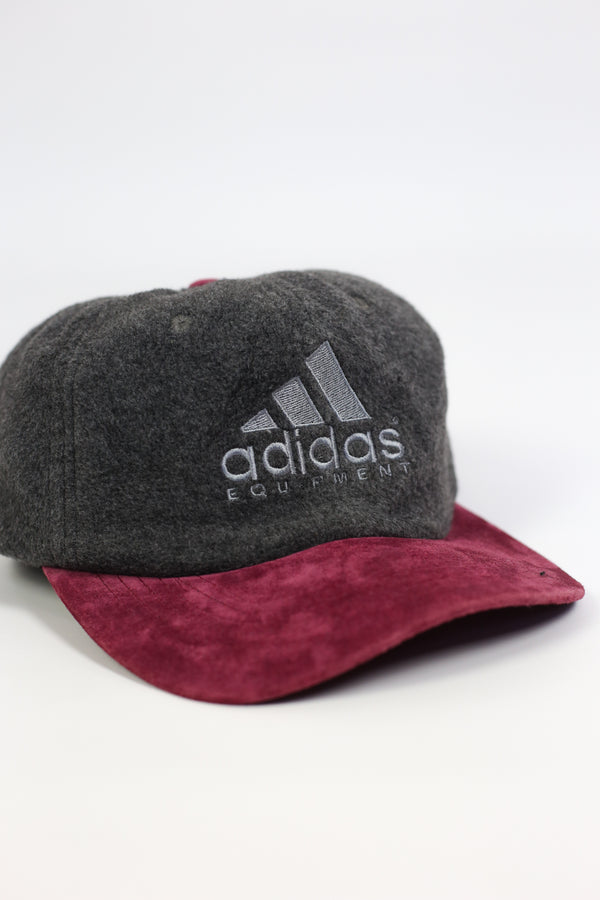 Adidas Equipment Vintage Fleece/Suede Cap