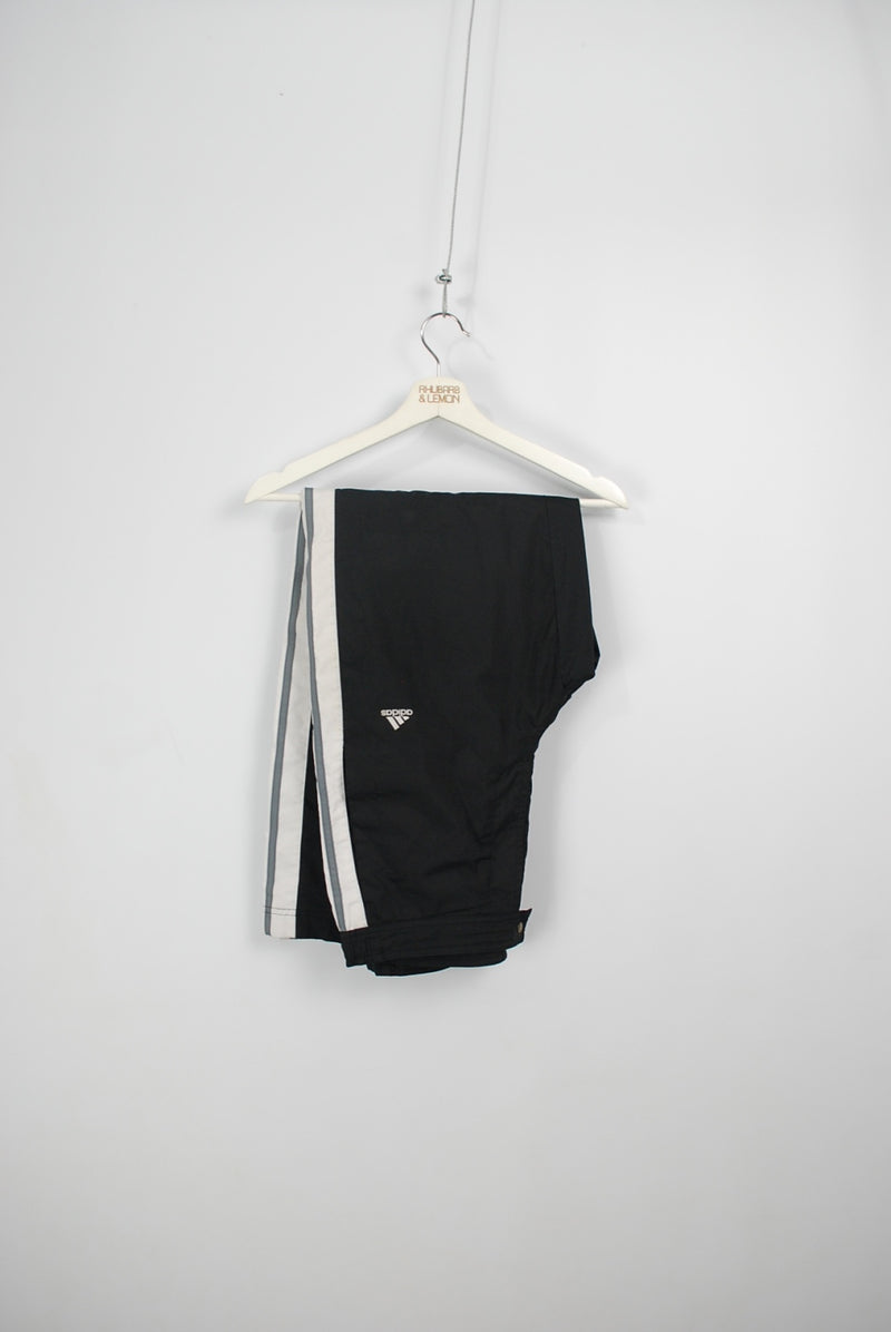 Adidas Vintage Popper Track Bottoms - Medium