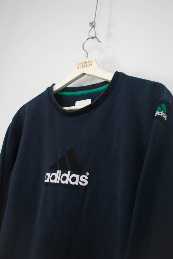 Adidas Equipment Vintage Sweatshirt - Small