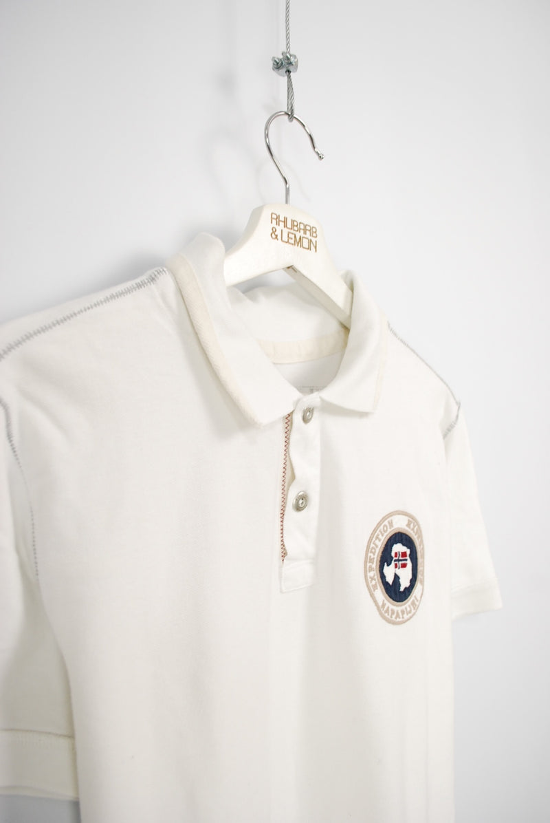 Napapijri Vintage Polo T-Shirt - Small