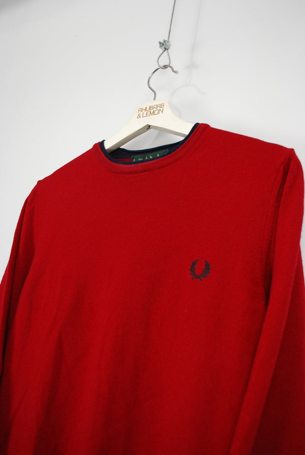 Fred Perry Vintage Sweater - Medium