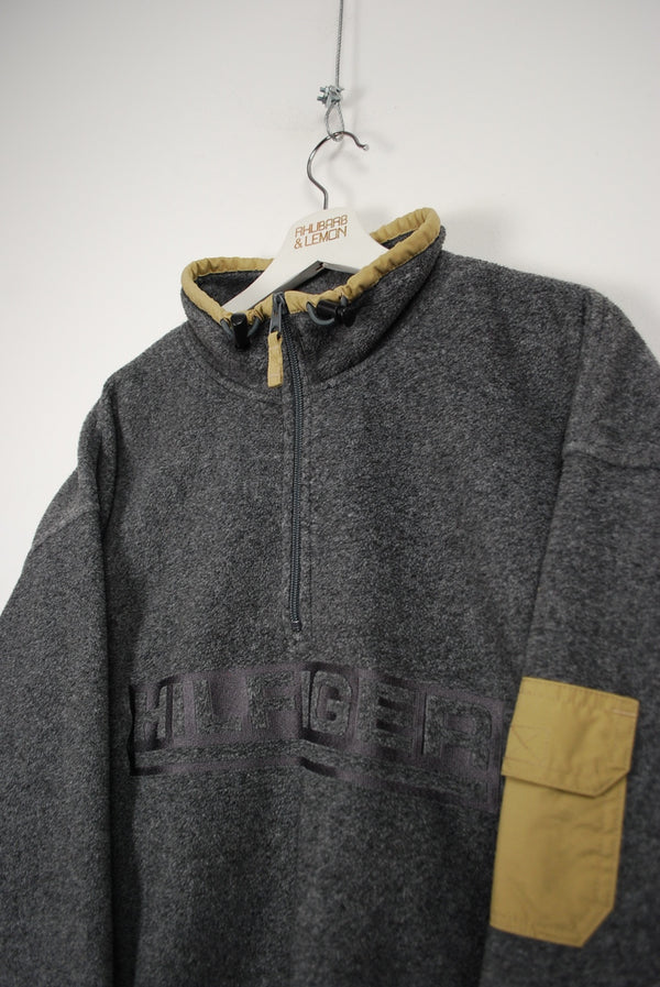 Tommy Hilfiger Vintage Quarter Zip Fleece - XXL