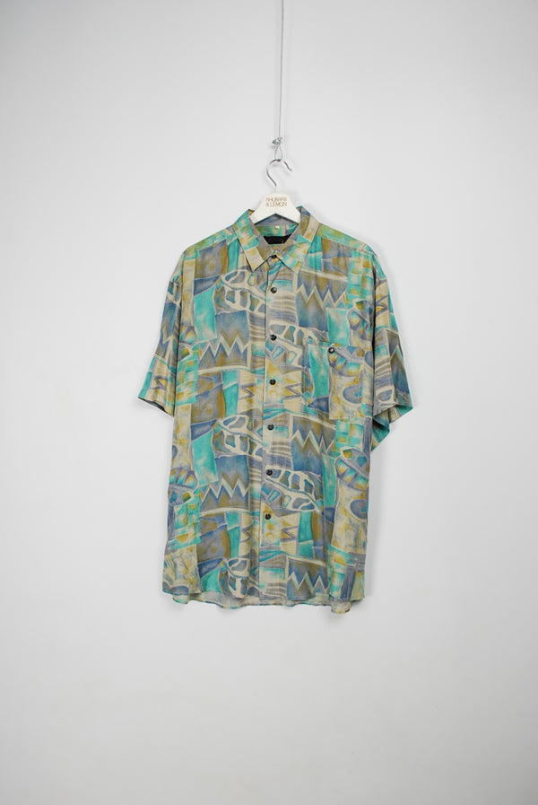 Vintage Silk Shirt - XL