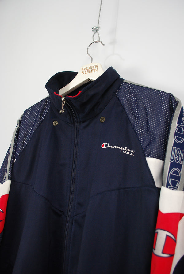 Champion Vintage Track Jacket - Large