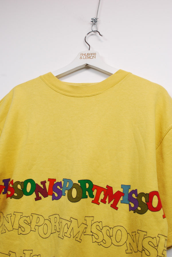 Missoni Vintage Short Sleeve Sweatshirt - Small