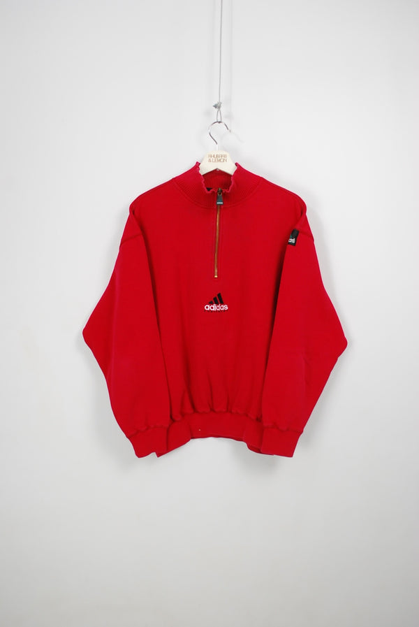 Adidas Equipment Vintage Quarter Zip Sweatshirt - Medium