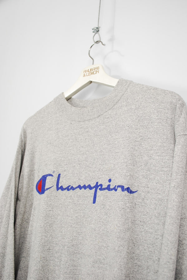 Champion Vintage Thin Sweatshirt - Large