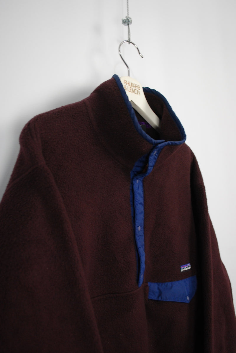 Patagonia Vintage Snap Fastener Fleece - Large