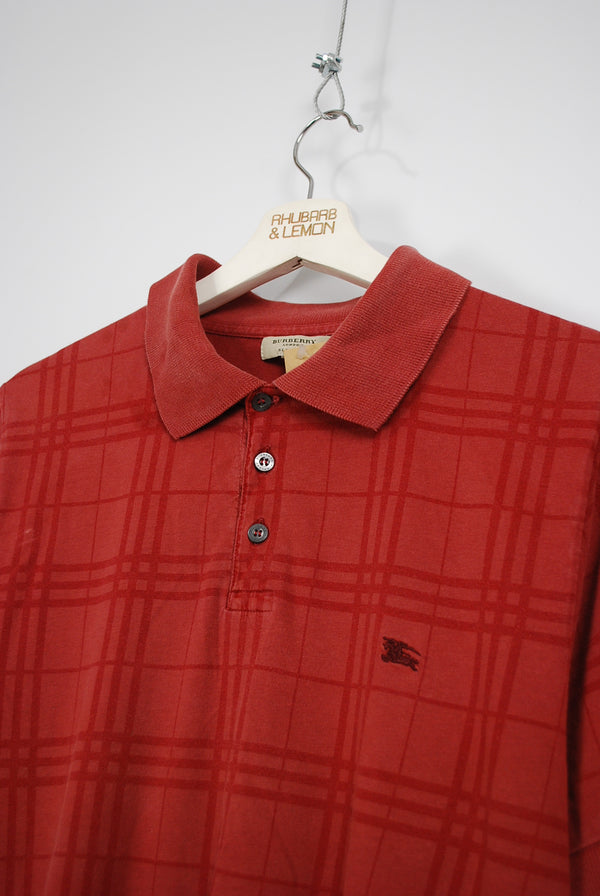 Burberry Vintage Polo T-Shirt - Small