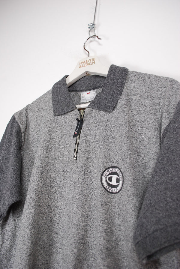 Champion Vintage Polo T-Shirt - Large