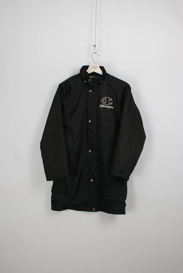 Champion Vintage Quilted Coat - Small