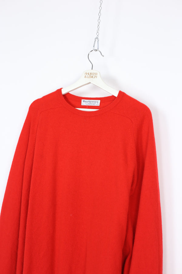 Burberry Vintage Lambs Wool Sweater - Large