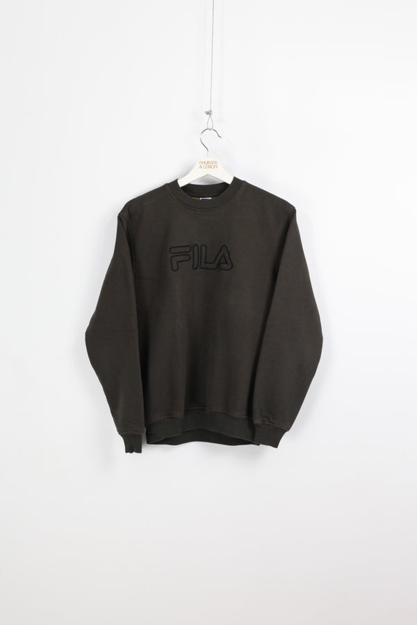 Womens Fila Vintage Sweatshirt - Small
