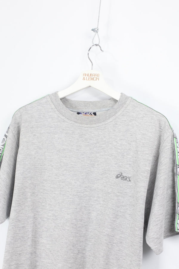 Asics Vintage Short Sleeve Sweatshirt - Large
