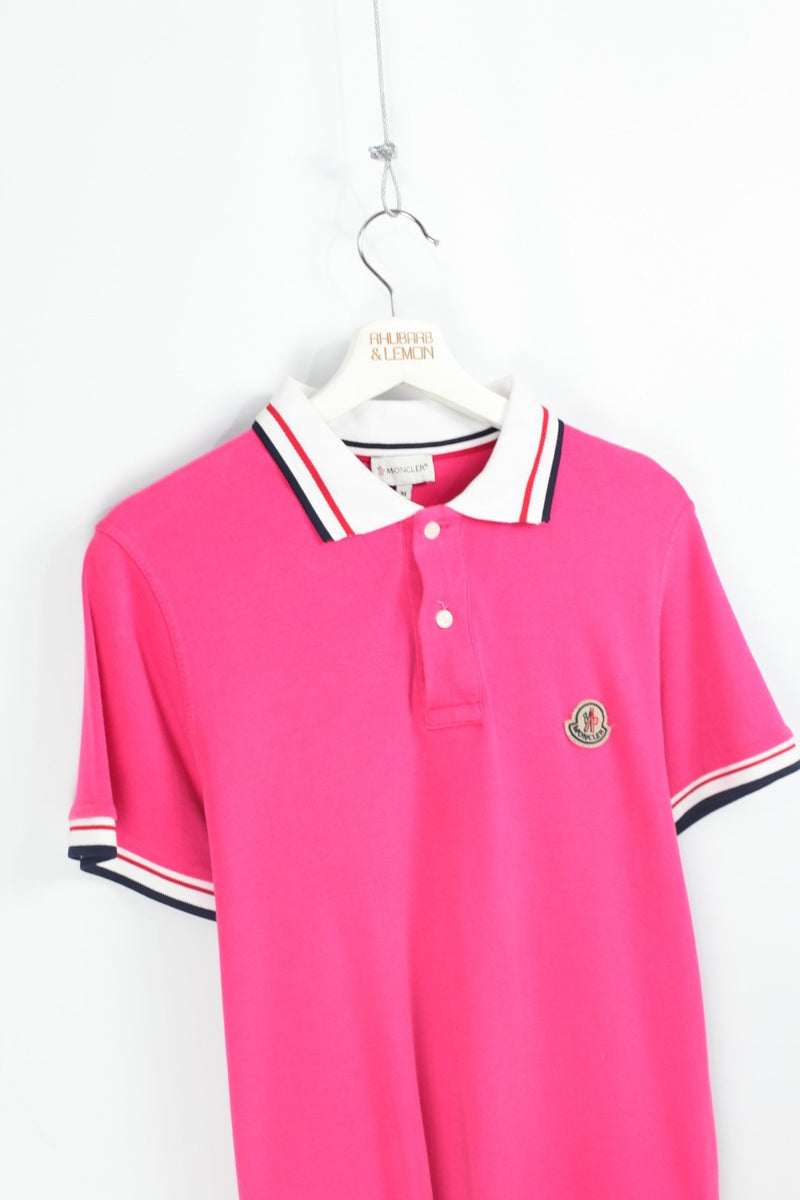 Moncler Vintage Polo Shirt - Medium