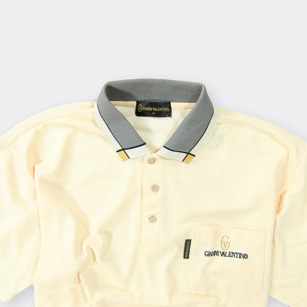 Valentino Vintage Polo Shirt - Medium