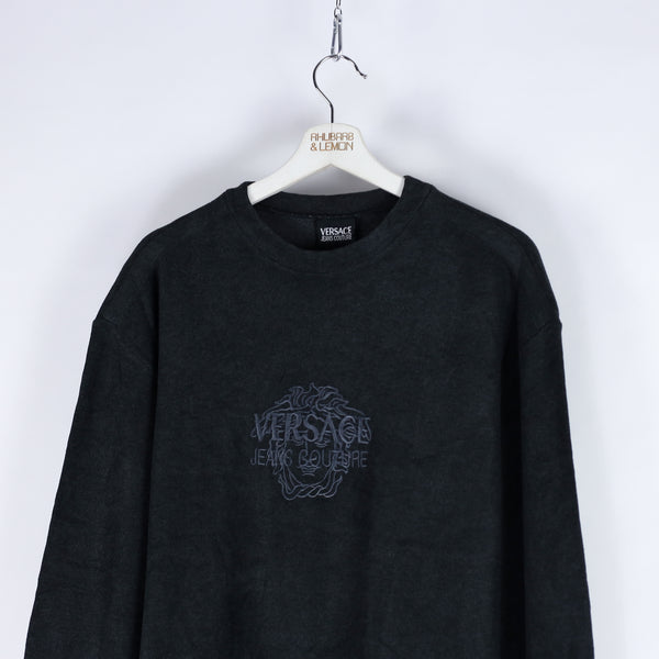 Versace Vintage Fleeced Sweatshirt - Medium