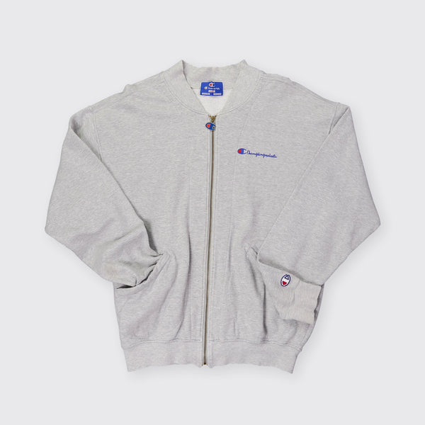 Champion Vintage Zip Up Sweatshirt - Medium