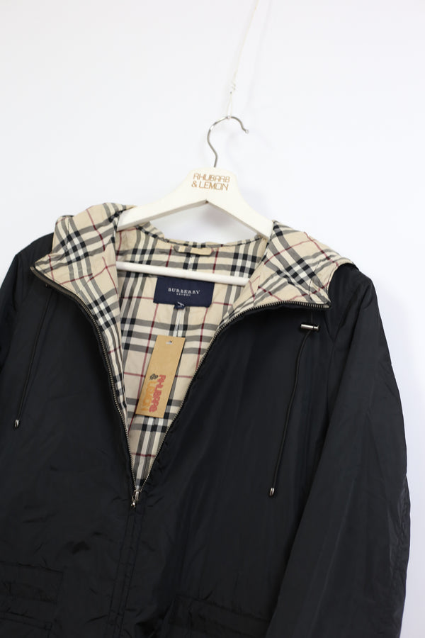 Womens Burberry Vintage Coat - Large