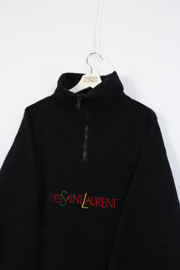 Yves Saint Laurent Vintage Bootleg Fleece - Medium