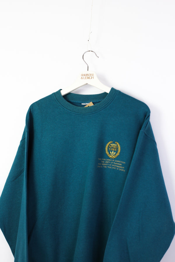 Adidas Vintage Sweatshirt - Medium