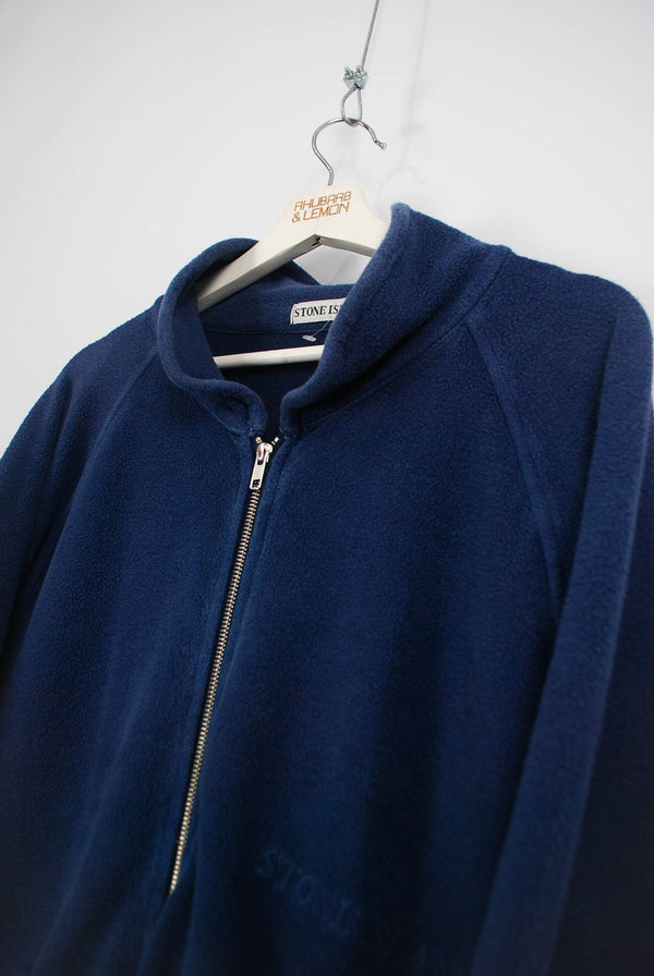 Stone Island Vintage Zip Up Fleece - XL