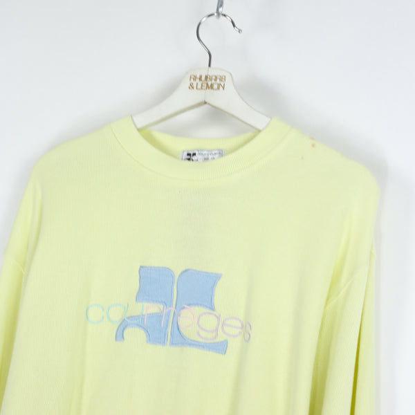 Courrege Vintage Sweatshirt - Medium