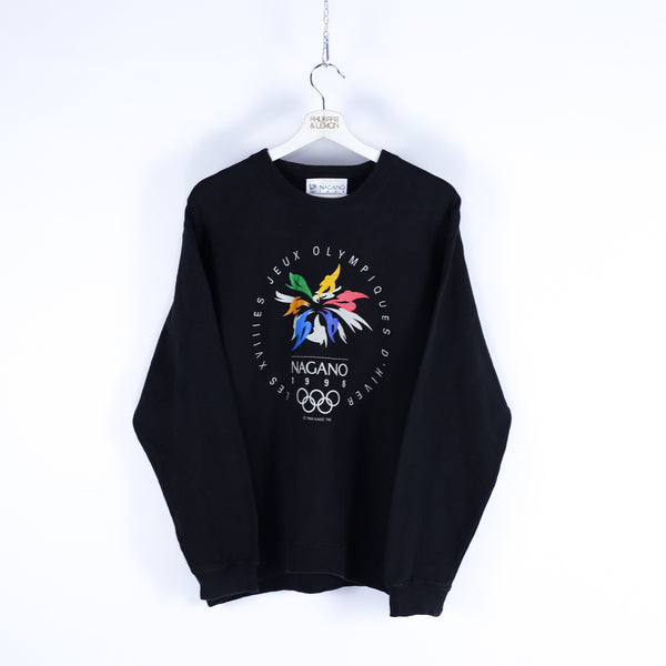 1998 Olympic Games Vintage Sweatshirt - Medium