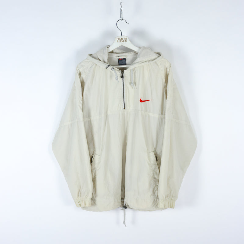 Nike Vintage Quarter Zip Track Jacket - Large