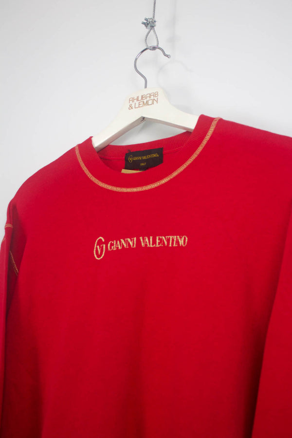 Womens Valentino Vintage Sweatshirt - Medium