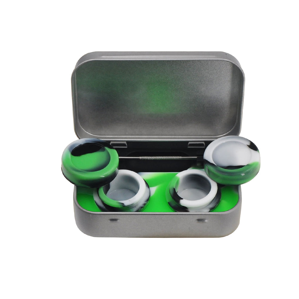 Wax Container Non-Stick Food Grade Silicone Dab Containers