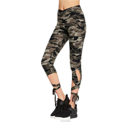 Bow Knot High Waist Elastic Leggings