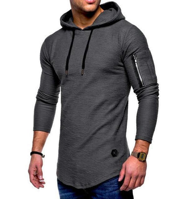 Casual Pullover Fitness Hoodie