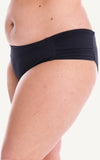 Bottoms Black Mid Rise Coverage Bikini Types Styles size Swimwear Swimsuit Beachwear Women