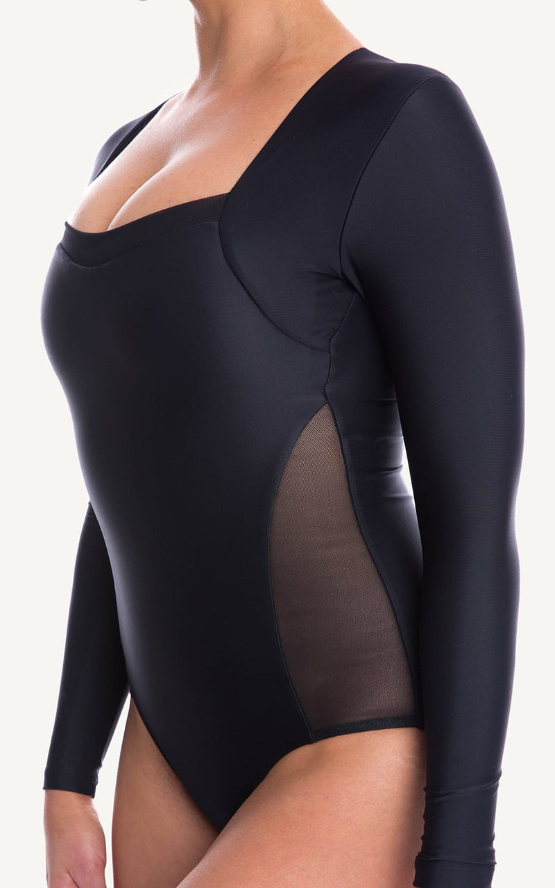 Adore Long Sleeve One Piece Swimsuit