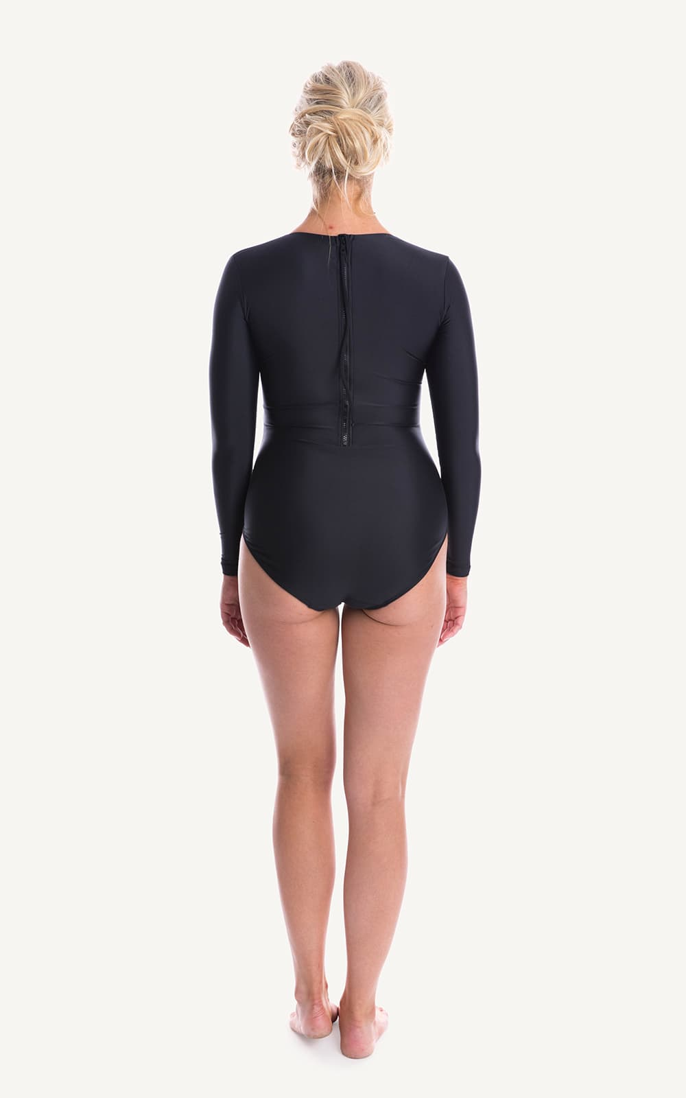 Adore Long Sleeve One Piece Swimsuit | Black