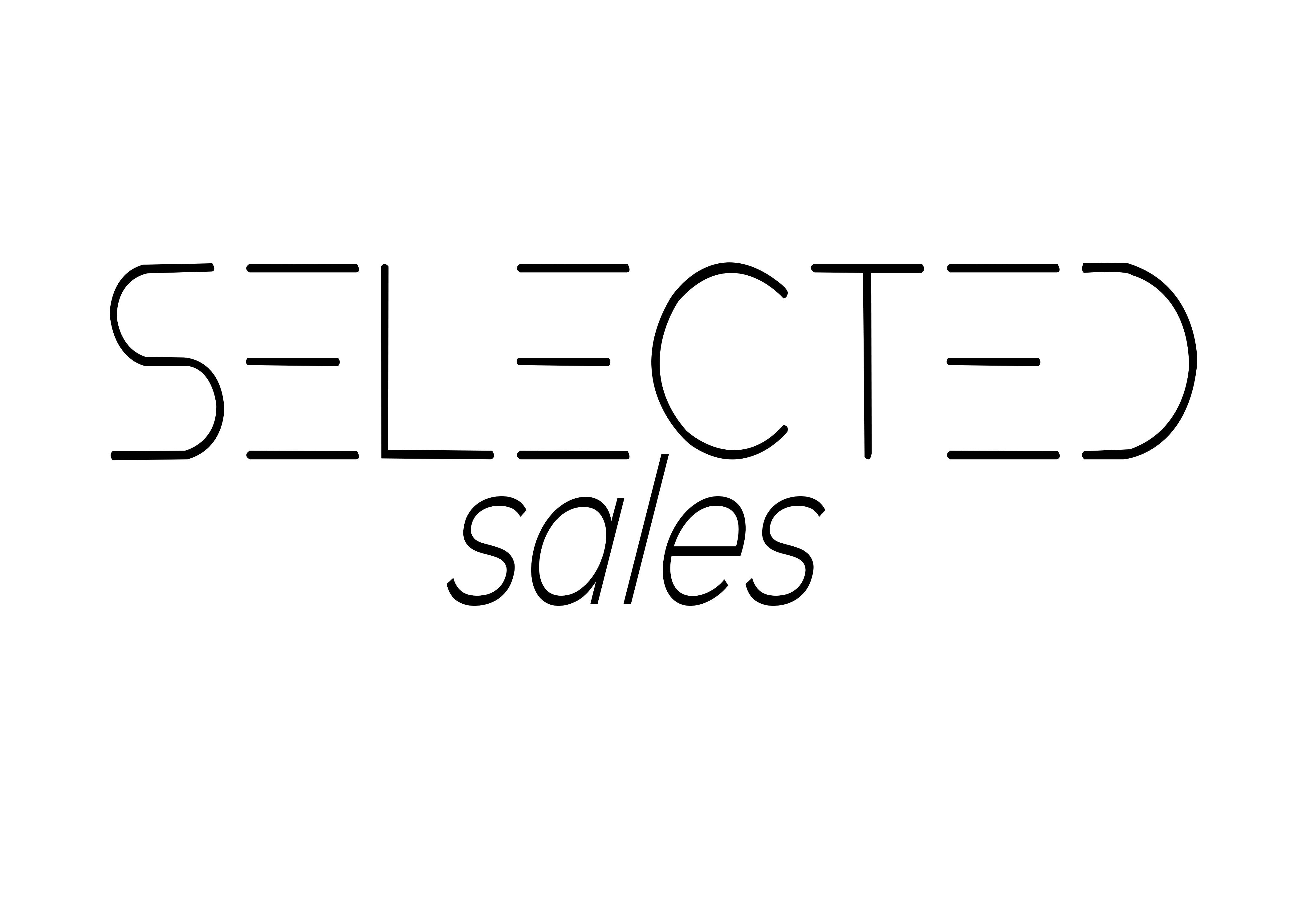 Selected Sales