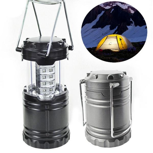 Portable 30 LED Stretchable Lantern Camping Lamp