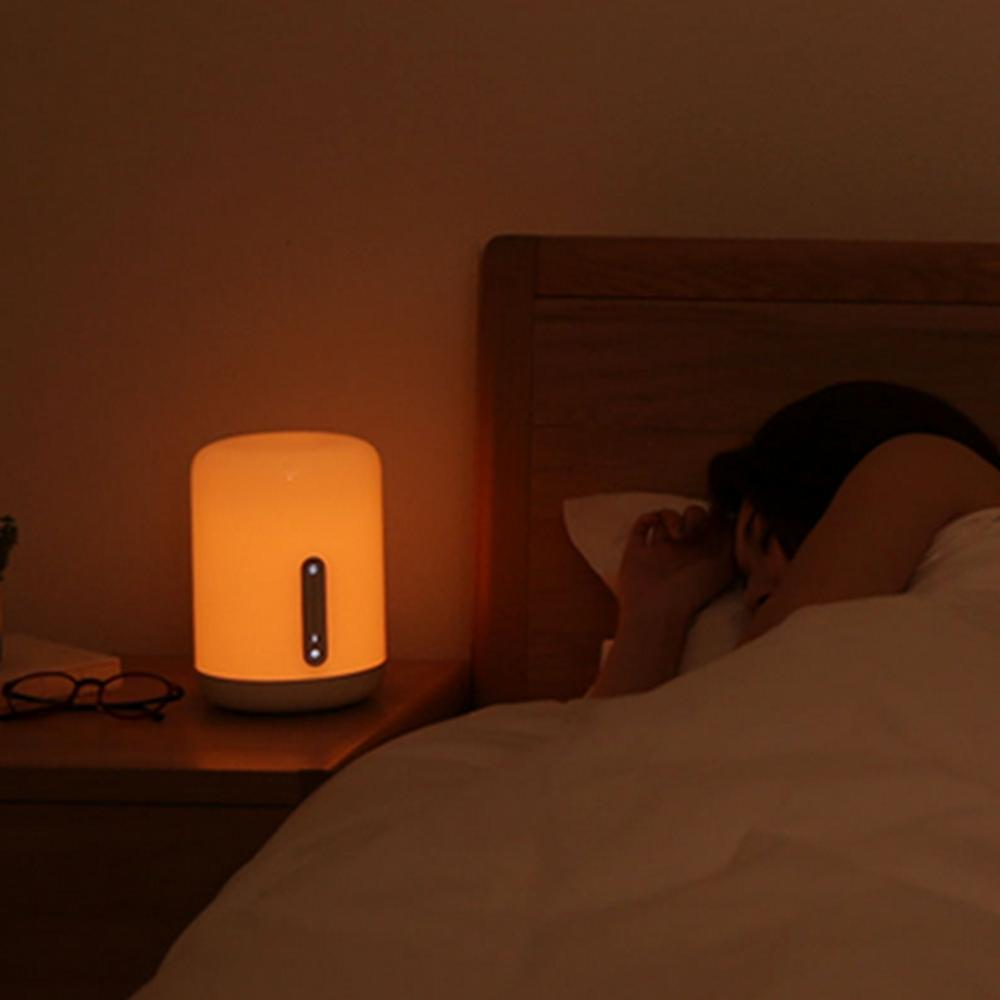 Bluetooth WiFi Touch APP Control Colorful Bedside Table Lamp