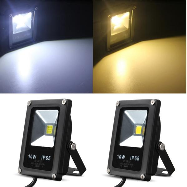 White/Warm White Waterproof IP65 10W LED Light