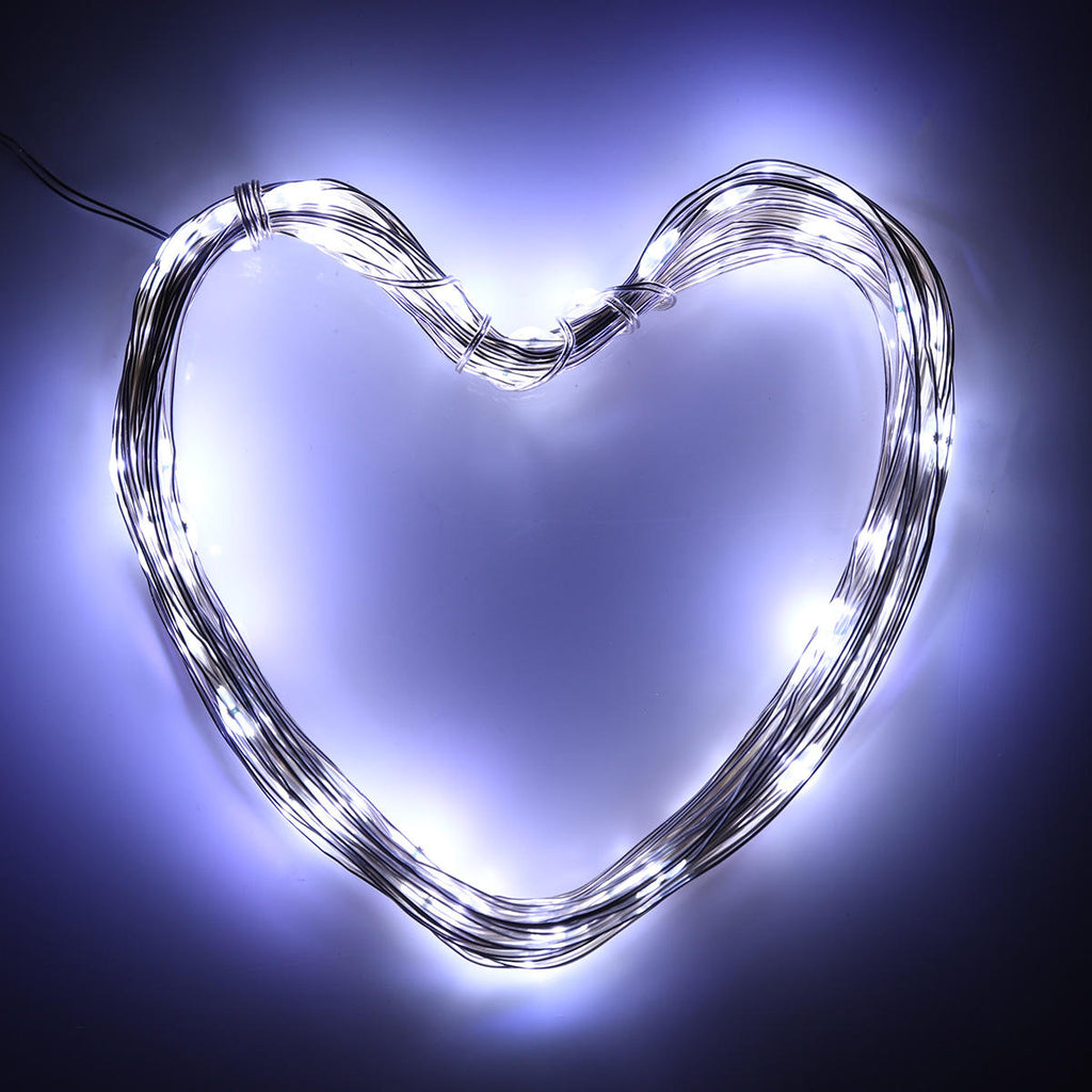 100LED Solar Powered 2 Modes Fairy String Light - String Light - Christmas Lamp