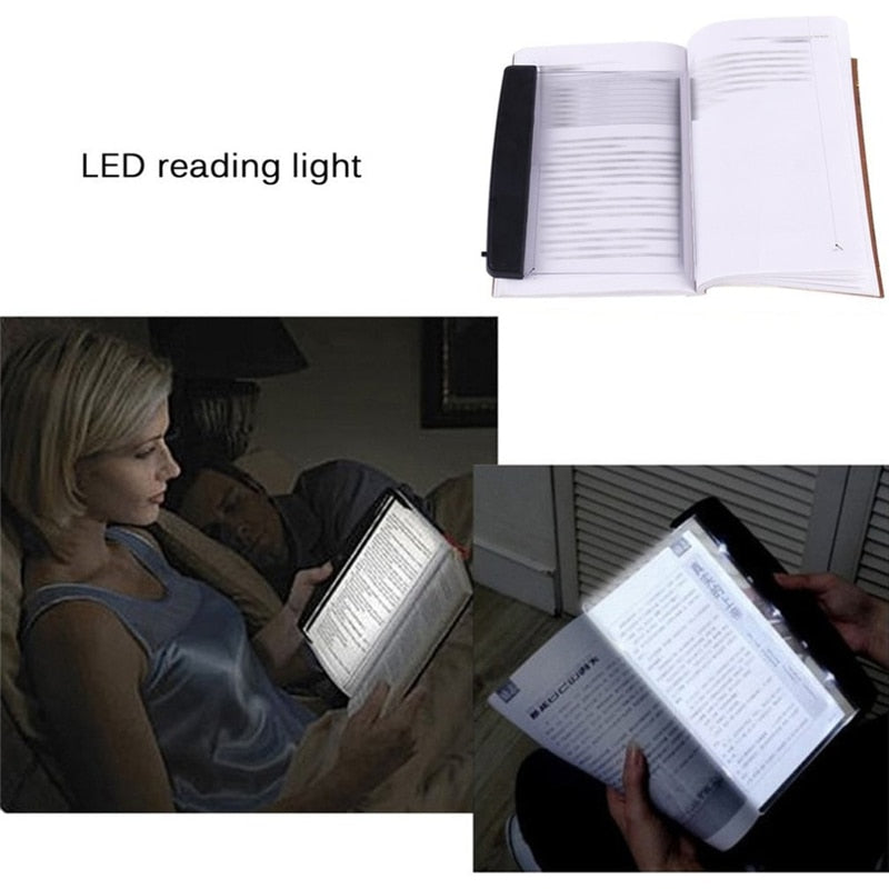 Creative Flat Plate LED Book Light Reading Night - Book Light - Flat Plate Light